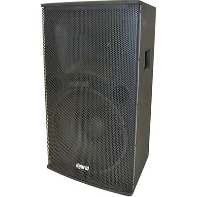Hybrid Wooden Passive Speaker Image